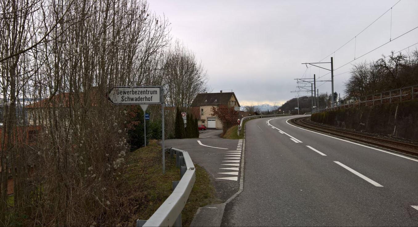 Schwaderhof Einfahrt